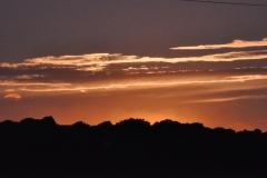 Vista tramonto