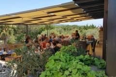 Pranzo in terrazza panoramica