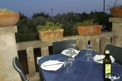 Tavolo vista giardino